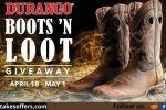 Durango Boots N Loot Sweepstakes