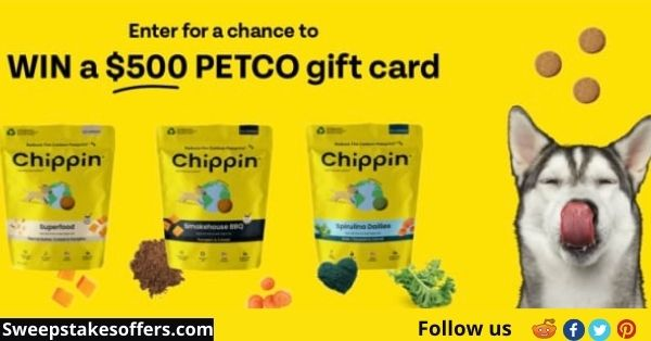 Chippin x Petco $500 Small Biz Sweepstakes