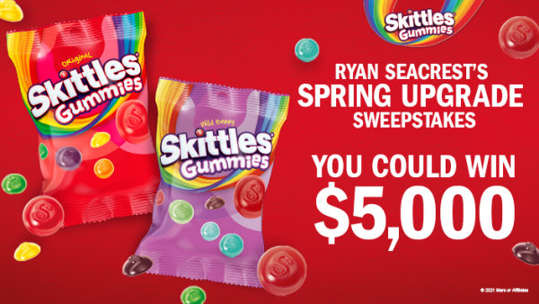 iHeartRadio Ryan Seacrest's Spring Upgrade Sweepstakes