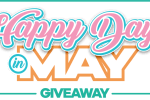 Check Into Cash Happy Days in May Giveaway