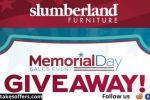 Slumberland Memorial Day Patio Giveaway