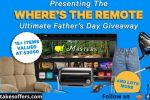 Shinesty Where's the Remote Ultimate Fathers Day Giveaway