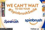 Spinbrush Power Toothbrush Giveaway