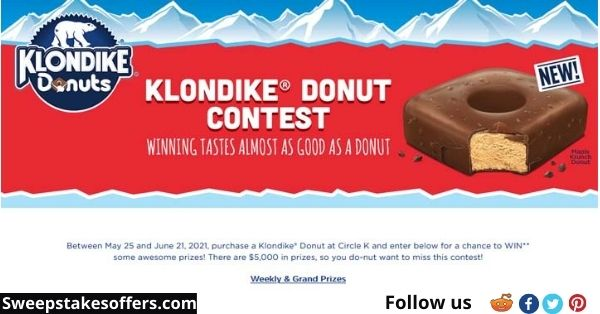 Klondike Donuts and Circle K Contest