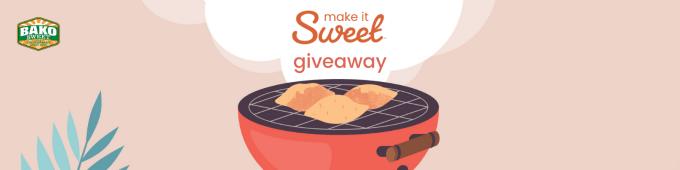 Bako Sweet Make it Sweet Giveaway