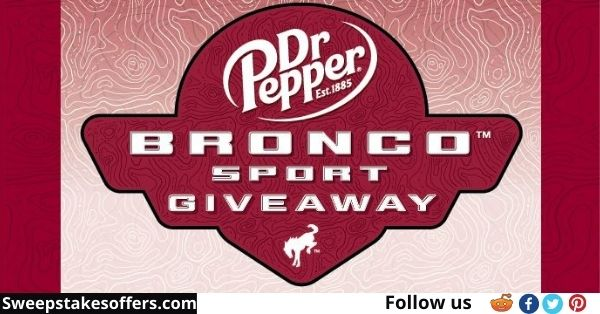 Dr Pepper Ford Summer You Deserve Sweepstakes
