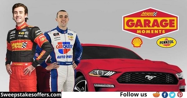 Advance Auto Parts Garage Moments Sweepstakes
