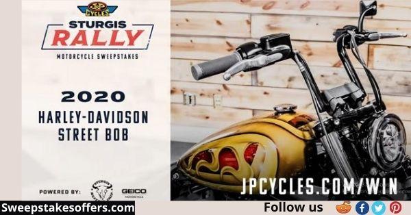 J&P Cycles Harley Davidson Bike Sweepstakes