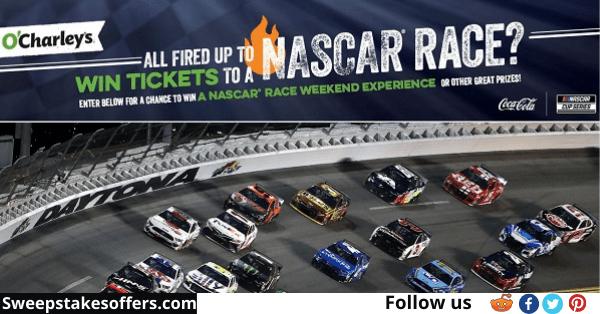 NASCAR Race Weekend Experience Sweepstakes