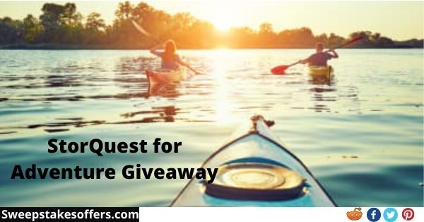 StorQuest for Adventure Giveaway