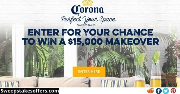 Perfect Your Space Home Makeover Sweepstakes