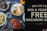 Macaroni Grill Reunion Sweepstakes
