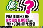 Go-GURT Mystery Flavor Sweepstakes and Instant Win Game