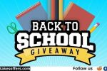 S&S Worldwide 10 Days Back to School Giveaway