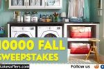 Real Simple $10000 Fall Sweepstakes