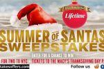 Lifetime Summer of Santas Sweepstakes
