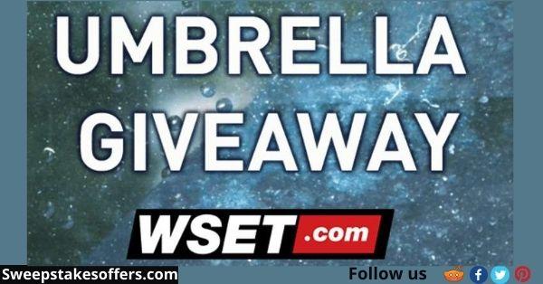 WSET Umbrella Giveaway Contest