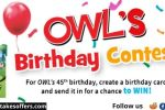 OWL's 45th Birthday Contest