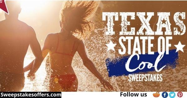 Ozarka Brand Texas State of Cool Sweepstakes