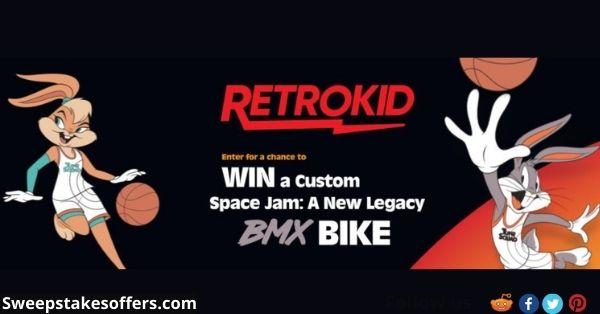RetroKid Space Jam New Legacy BMX Bike Contest