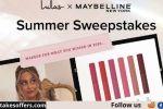 Lulus Maybelline Summer Sweepstakes