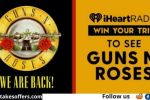 iHeartRadio Guns N Roses Flyaway Sweepstakes
