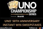 UNO 50th Anniversary Instant Win Sweepstakes