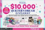Quilter's Dream Giveaway