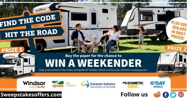 Let's Go Caravan and Camping Win A Weekender Competition