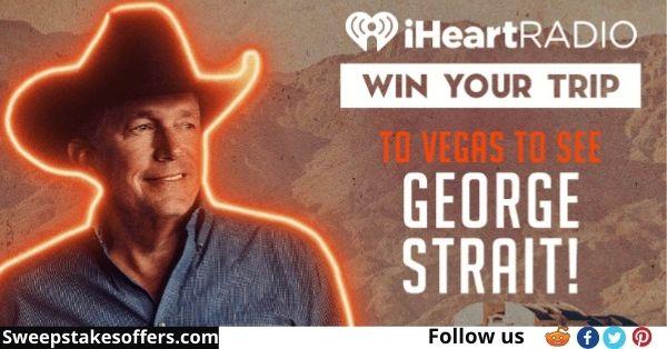 iHeart George Strait Las Vegas Flyaway Sweepstakes