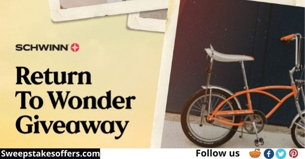 Schwinn Bike Return to Wonder Giveaway