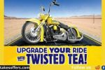 Twisted Tea Take Home the Tea Dragger Sweepstakes