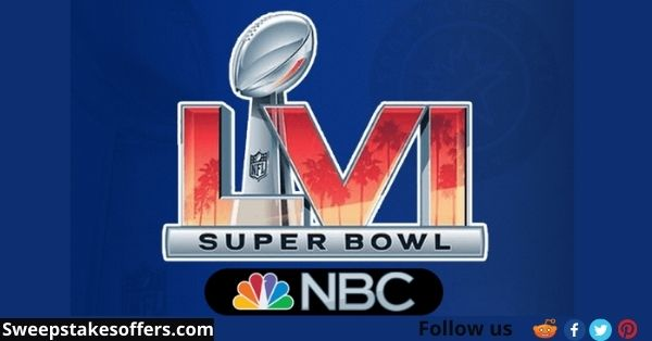 Sunday Night Football canVS Super Bowl Sweepstakes