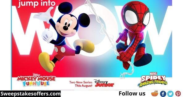 Disney Junior Virtual Play Date Sweepstakes