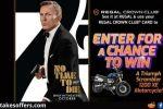 Regal Cinema No Time To Die Triumph Scrambler Giveaway,