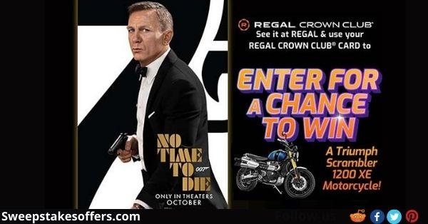 Regal Crown Club No Time To Die Triumph Scrambler Giveaway