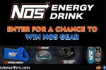 Win NOS Gear Instant Win Sweepstakes
