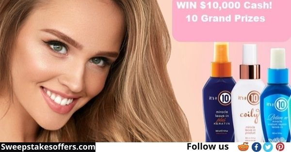 National Love Your Hair Day $100000 Giveaway