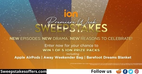ION Television Premiere Week Sweepstakes