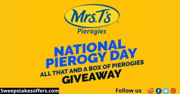 Mrs T's All That and a Box of Pierogies Giveaway