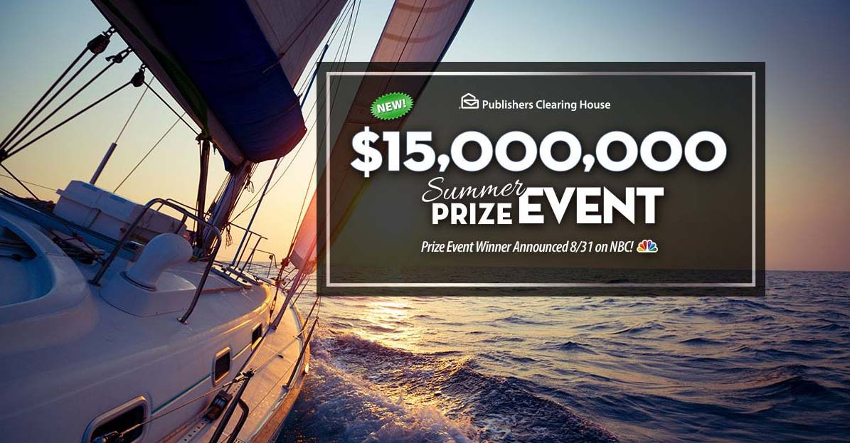 Publishers Clearing House Sweepstakes Entry