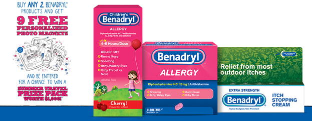 Benadryl Picture Perfect Summer Sweepstakes