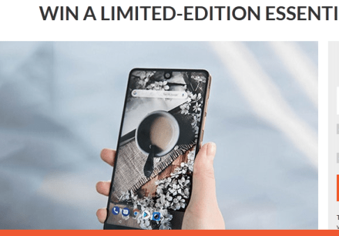 Sweepon Limited Essential Smartphone Sweepstakes