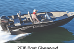 Gander Outdoors and Overton's Boat Giveaway