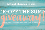 kick off the summer giveaway