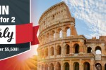 Win Your Dream Trip To Italy