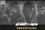 Twentieth Century Fox Planet Of The Apes Sweepstakes Win T-Shirts, Archives Vol 2