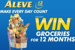 Aleve Make Every Day Count Contest