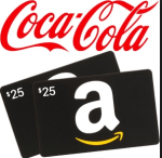 Coca-Cola $25 Amazon.com Gift Card Instant Win Sweepstakes