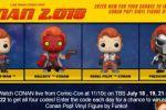 Conan Pop Figure Giveaway Instant Win Game